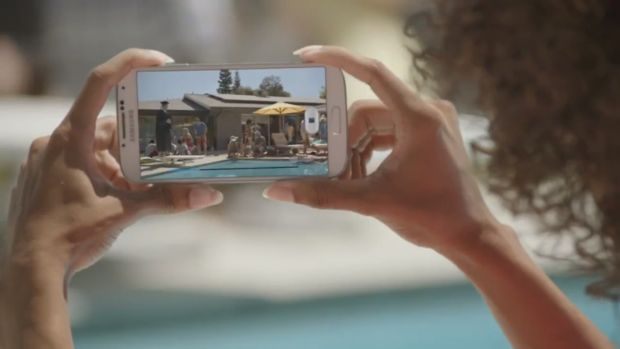 galaxy-s4-commercial-pool