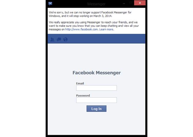 FacebookMessengerWindowsShutDown