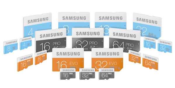 samsung-pro-EVO-Standard-SD-microSD