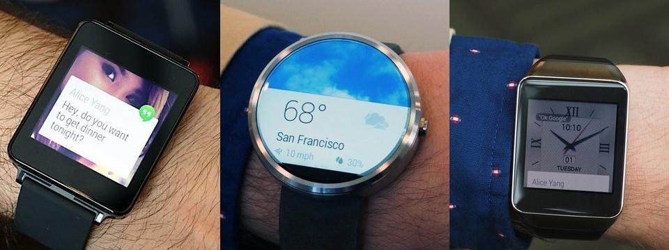 android-wear-relogios