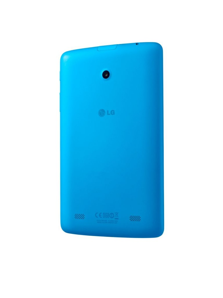 LG G Pad 7.0 Azul - verso