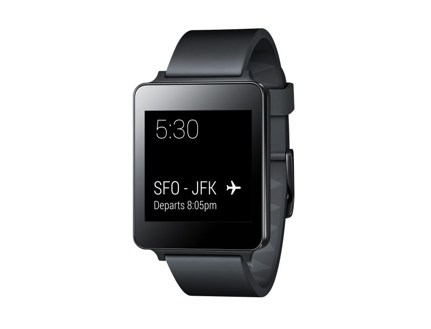 LG G Watch lateral