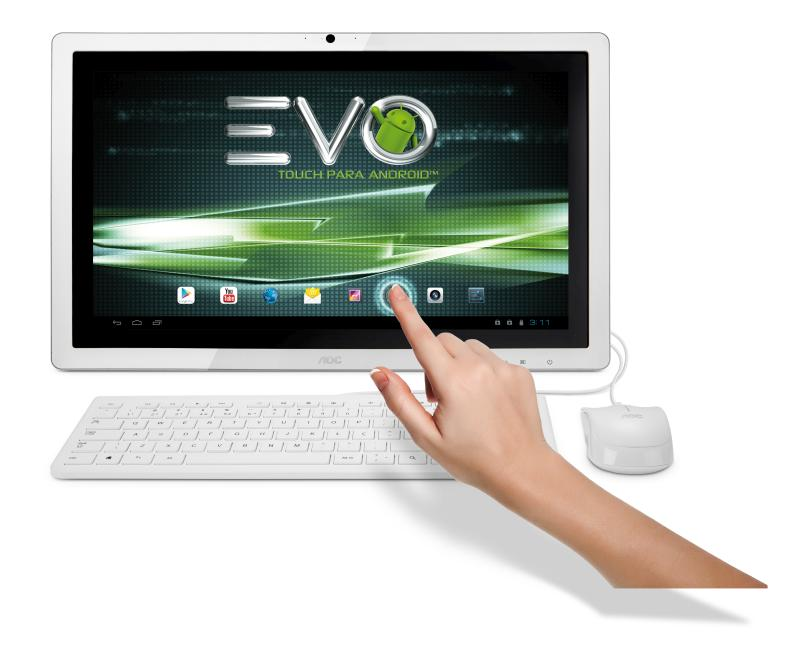 EVO Android Branco TOUCH Frontal JPG