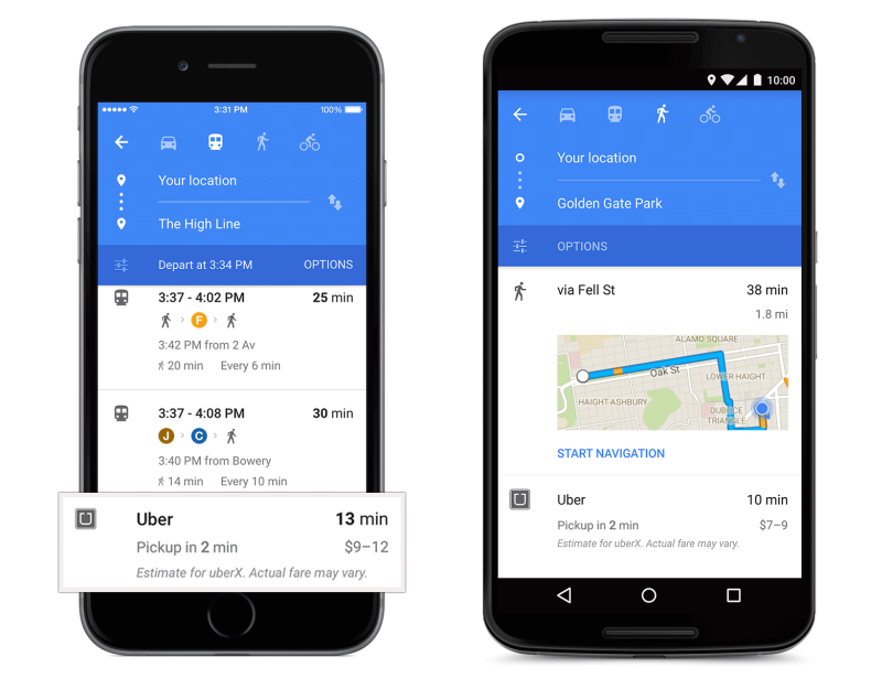 Uber+card+in+Google+Maps