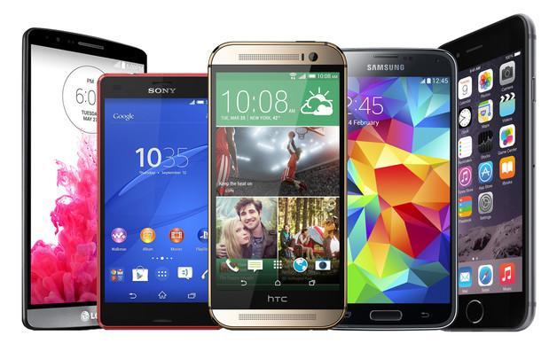 smartphones-de-2014