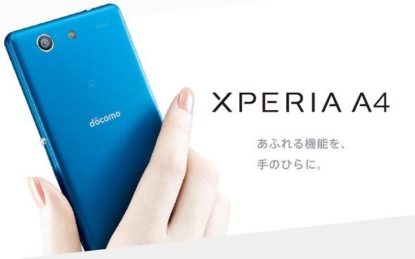 Sony Xperia A4-topo