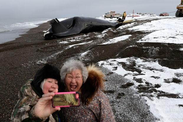 selfie-alasca