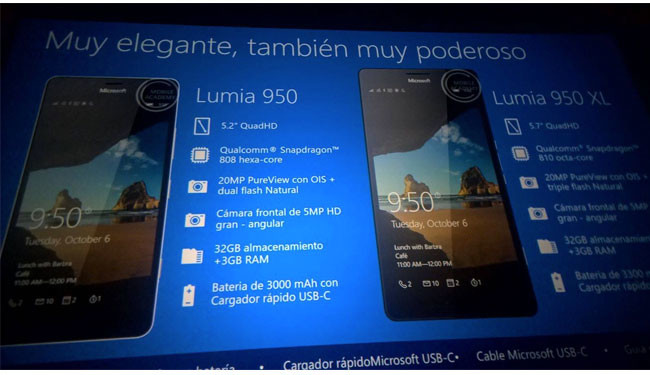 Lumia 550, 950 y 950XL-03