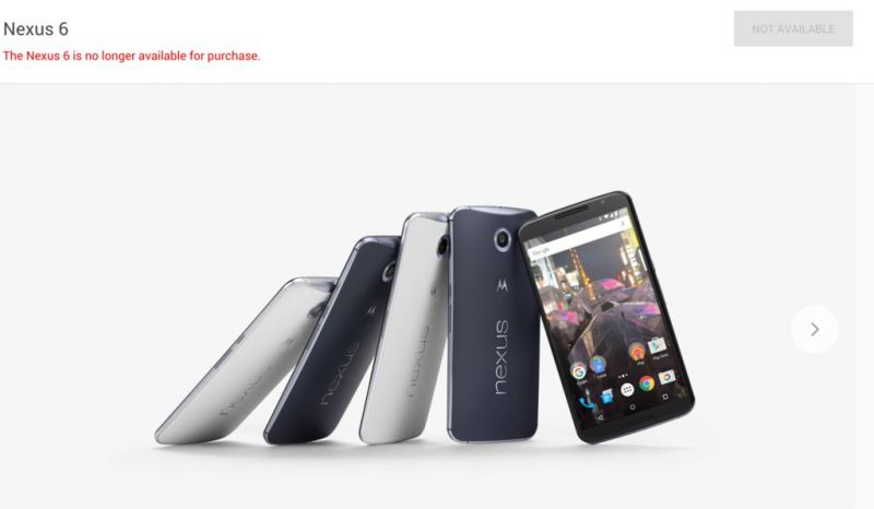 google-nexus-6-fora-do-mercado