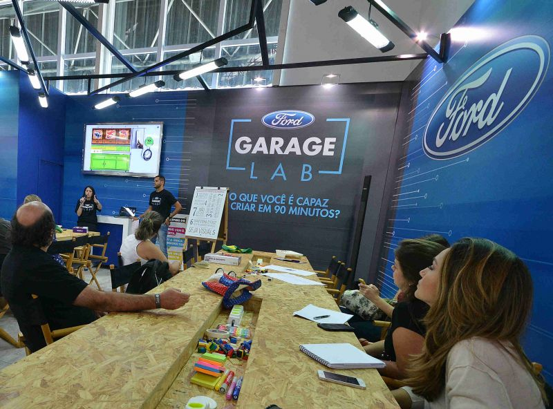 FORD CAMPUS PARTY-GARAGE LAB