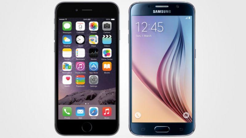 smartphones-iphone-galaxy-s6