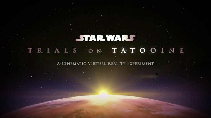 Star Wars Trials on Tatooine