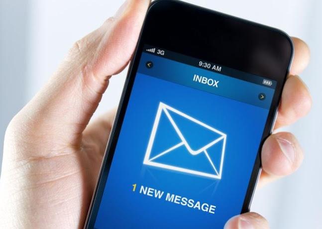 email-no-celular