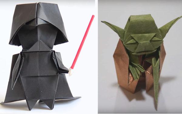 vader-yoda-origami
