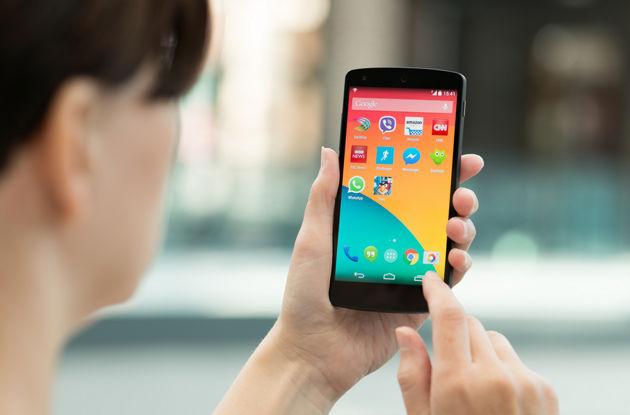 google-nexus-5-android-em-uso