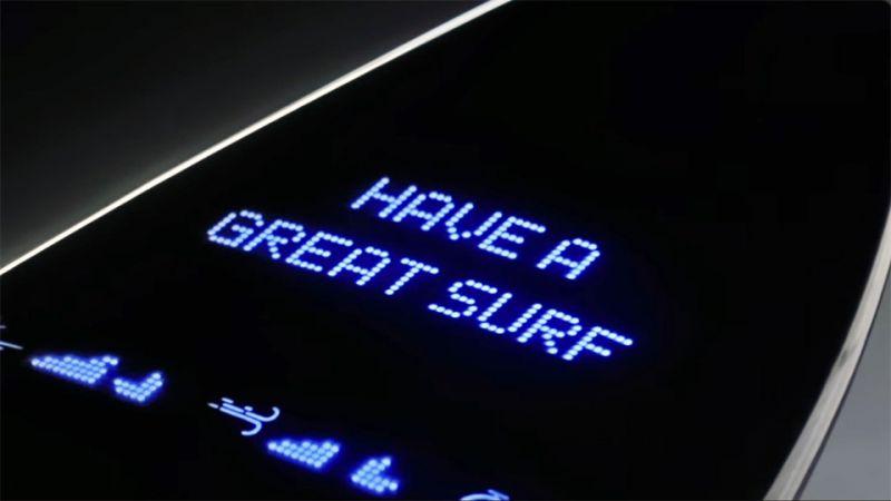 Galaxy Surfboard