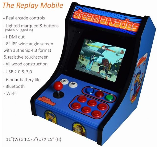 Dreamcade Replay Mobile