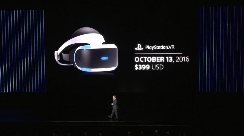 PlayStation VR data de lançamento