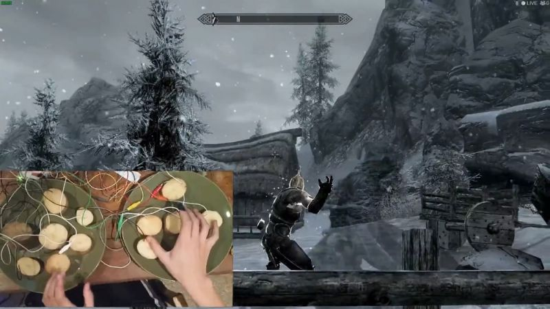Playing Skyrim with a Potato