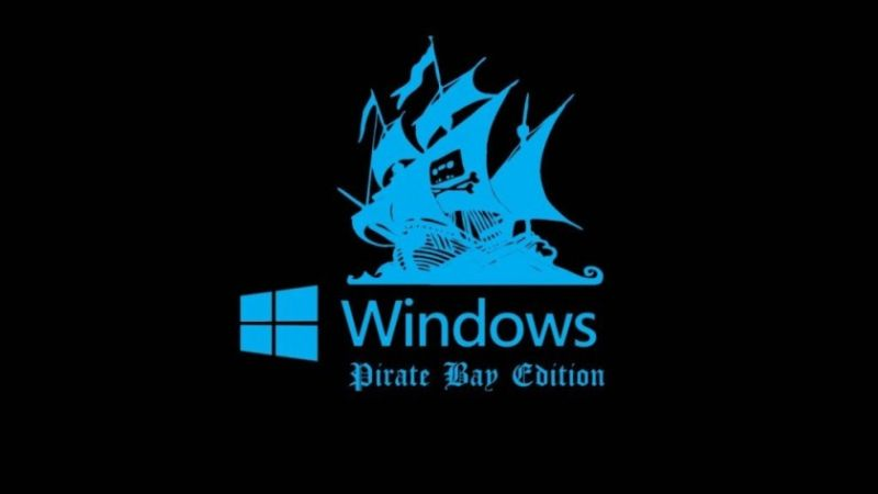 Windows-pirataria