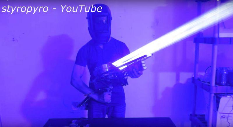 bazuca a laser