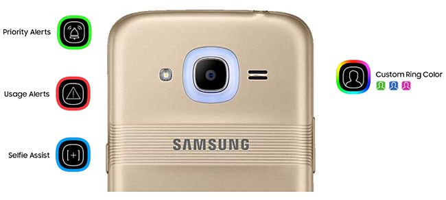 Samsung Galaxy J2 2016 Oficial com Smart Glow