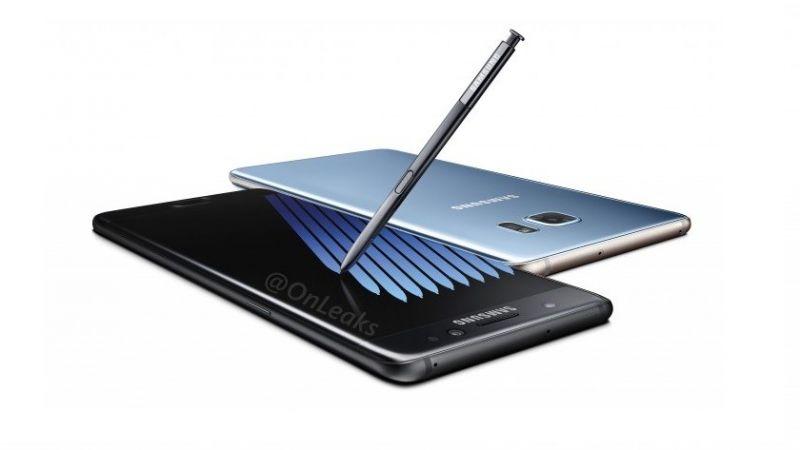 Samsung Galaxy Note 7 render leak