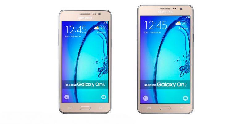 Samsung Galaxy On5 Pro e On7 Pro