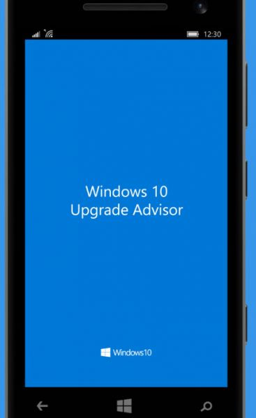 Windows 10 Mobile Uprgade Adivsor