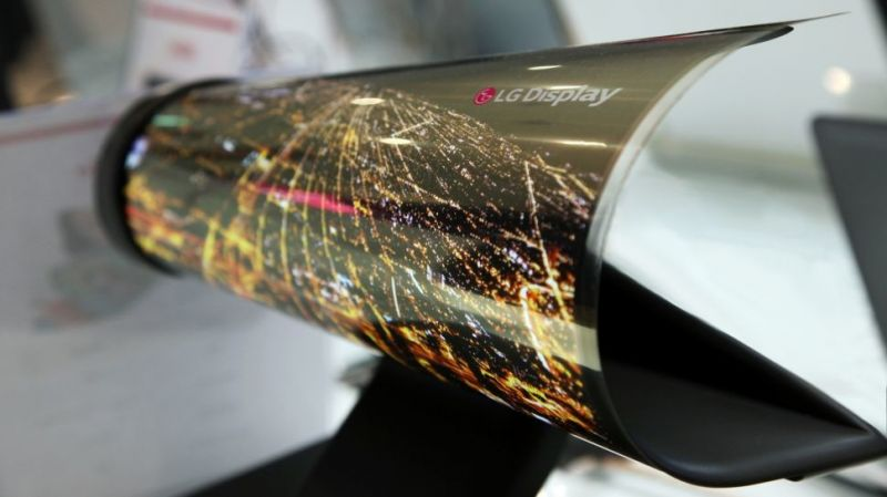 lg display tela flexivel