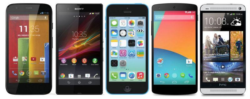 smartphones de 2013