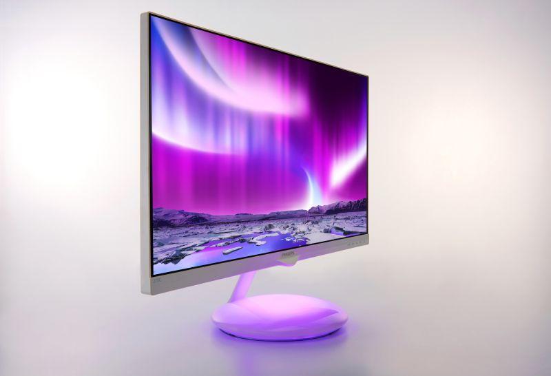Monitor Philips Moda Ambiglow_purple_3