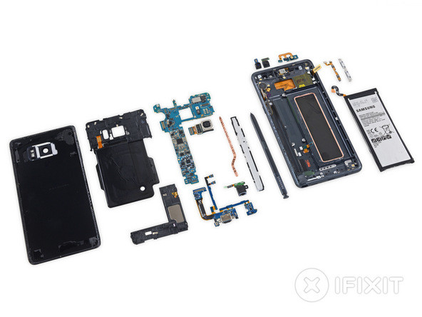 Samsung Galaxy Note 7 iFixit 02