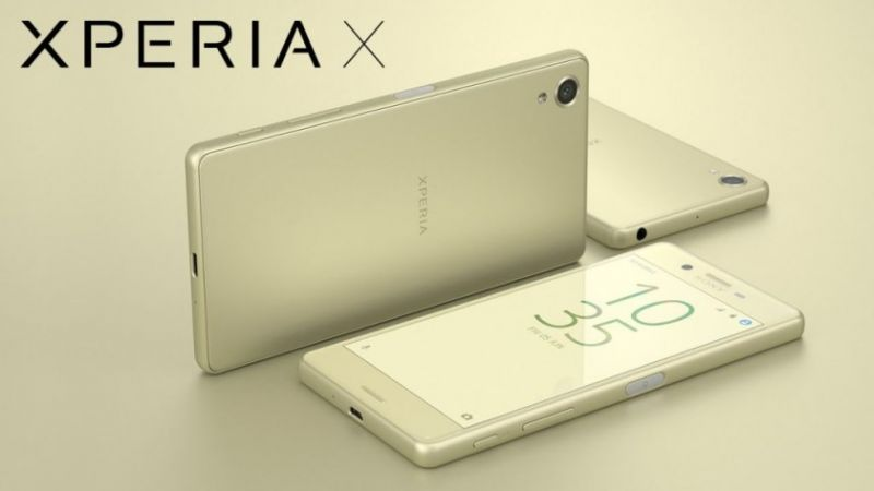 Sony Xperia X Android Nougat
