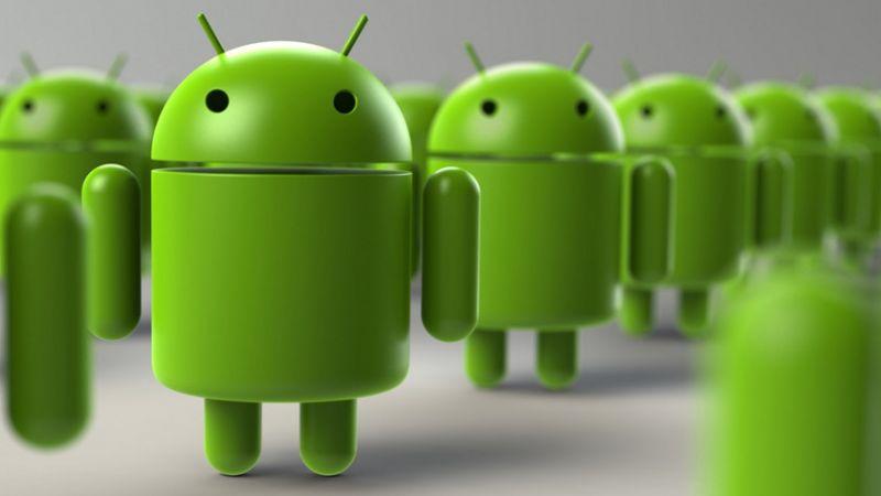 fragmentacao do android