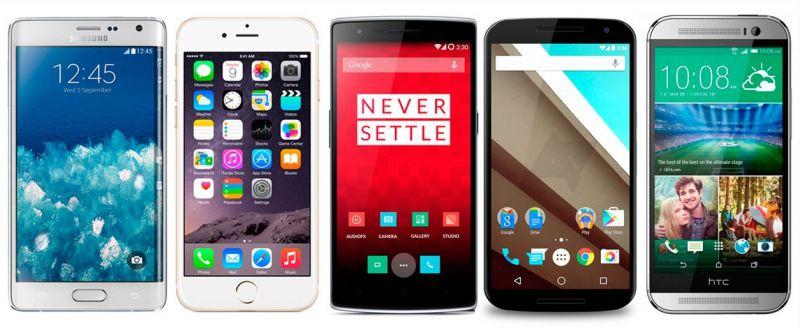 smartphones de 2014