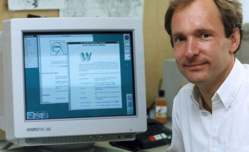 world wide web tim berners lee
