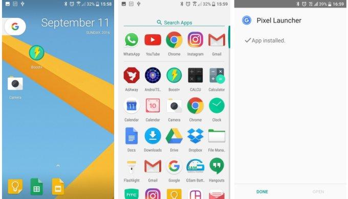pixel-launcher