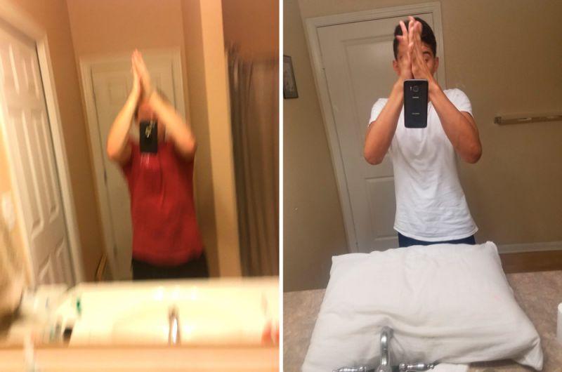 selfie-chocando-as-maos