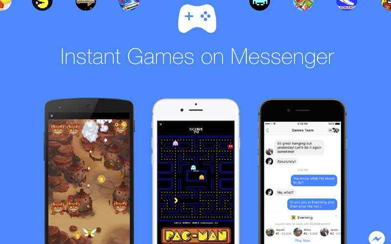 facebook messenger instant games